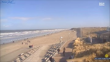 Livecam Norderney 24.02.2017 - Music: Train - Hey, Soul Sister