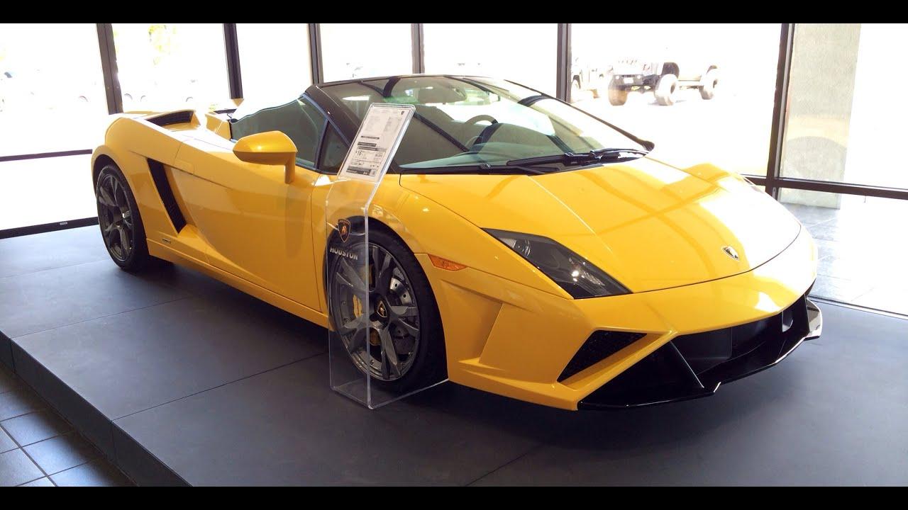 2014 Lamborghini Gallardo Lp560 4 Spyder Walk Around Tour Youtube