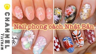 Những mẫu nail mang đậm phong cách Nhật Bản