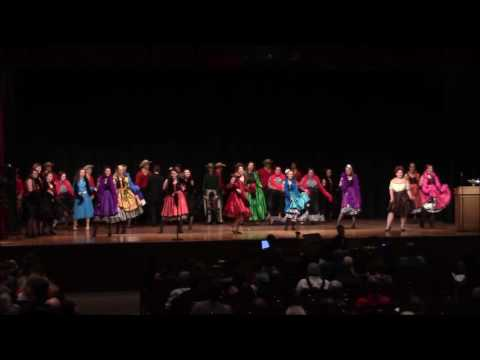 Marion High School performing