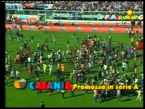 Calcio Catania: LA STORICA PROMOZIONE DEL 28-05-2006