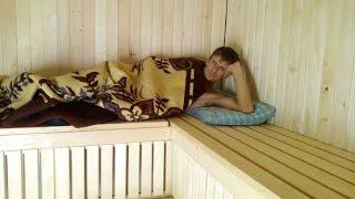 видео Сауна дома своими руками