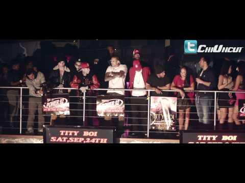 Chris Brown and Tyga perform Lap Dance