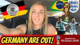 GERMANY ARE OUT!!! - WORLD CUP ROUND UP