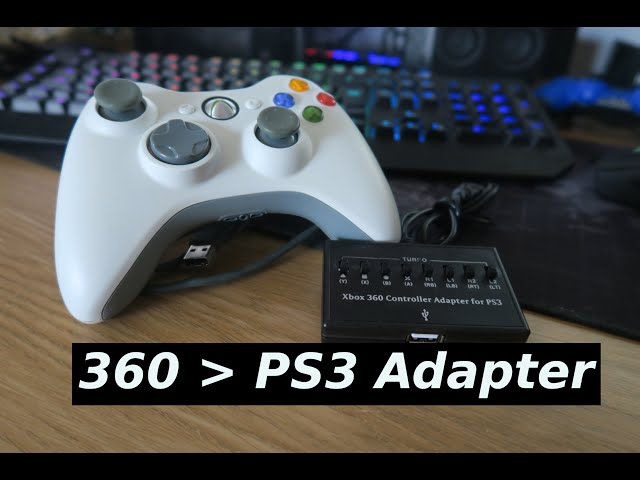 Use an XBOX 360 controller on your PS3!