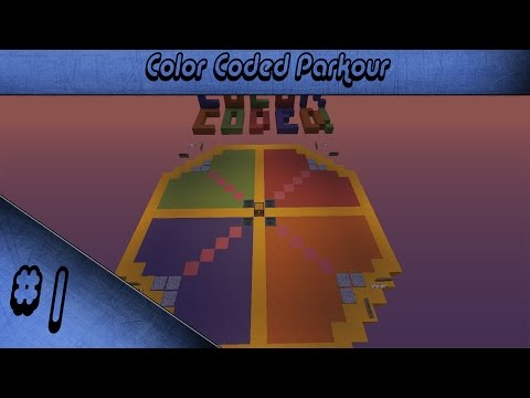 Color Coded Parkour - Ep1 - Ne Citujem Uopste