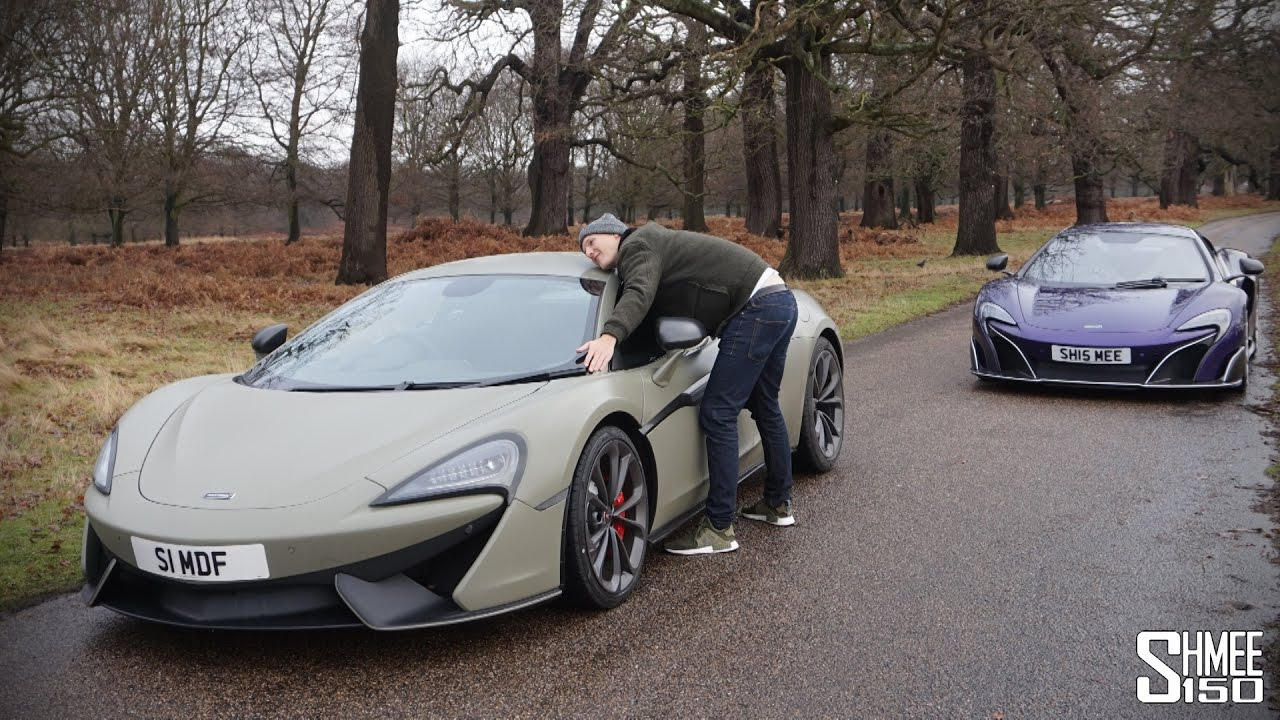 I Made Seenthroughglass Buy A Mclaren 540c Youtube