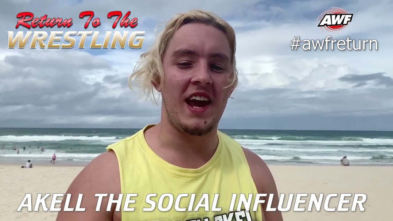 Akell The Social Influencer is ready for Torture at AWF Return To The Wrestling on 27 March