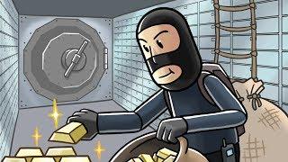 Roblox   SHH STEAL ALL THE MONEY - Money Grabbing Simulator! (Roblox Game)