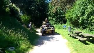 Ferret Scout Car på Koldkrigsmuseum Langelandsfort 1