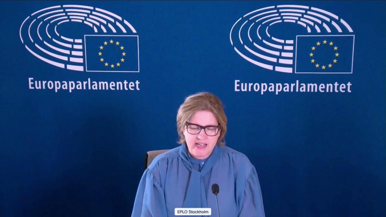 Karin Karlsbro 17 Dec 2020 plenary speech on Iran