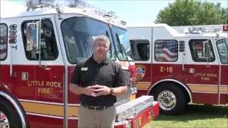 Sunbelt Fire and the 5 Custom E-ONE Pumpers for Little Rock
