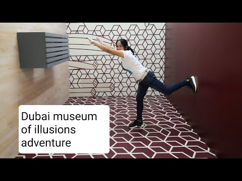 1st Adventure Vlog in Dubai Museum of illusions dubai part2