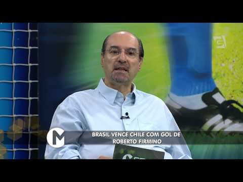 Mesa Redonda - Amistoso: Brasil X Chile (29/03/15)