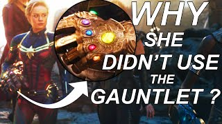 Why Captain Marvel Didn't Use the Infinity Gauntlet? Russo Bros. Explain