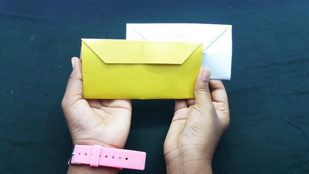 How to Make an Envelope | How to make an envelope, Origami ... | 720x1280