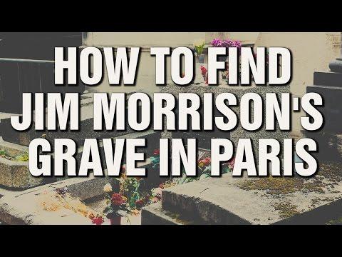 How To Find Jim Morrison's Grave At Le Père Lachaise, Paris