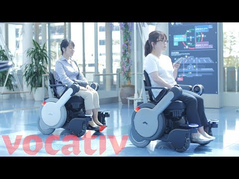 Autonomous Wheelchair Tested In Tokyo Airport