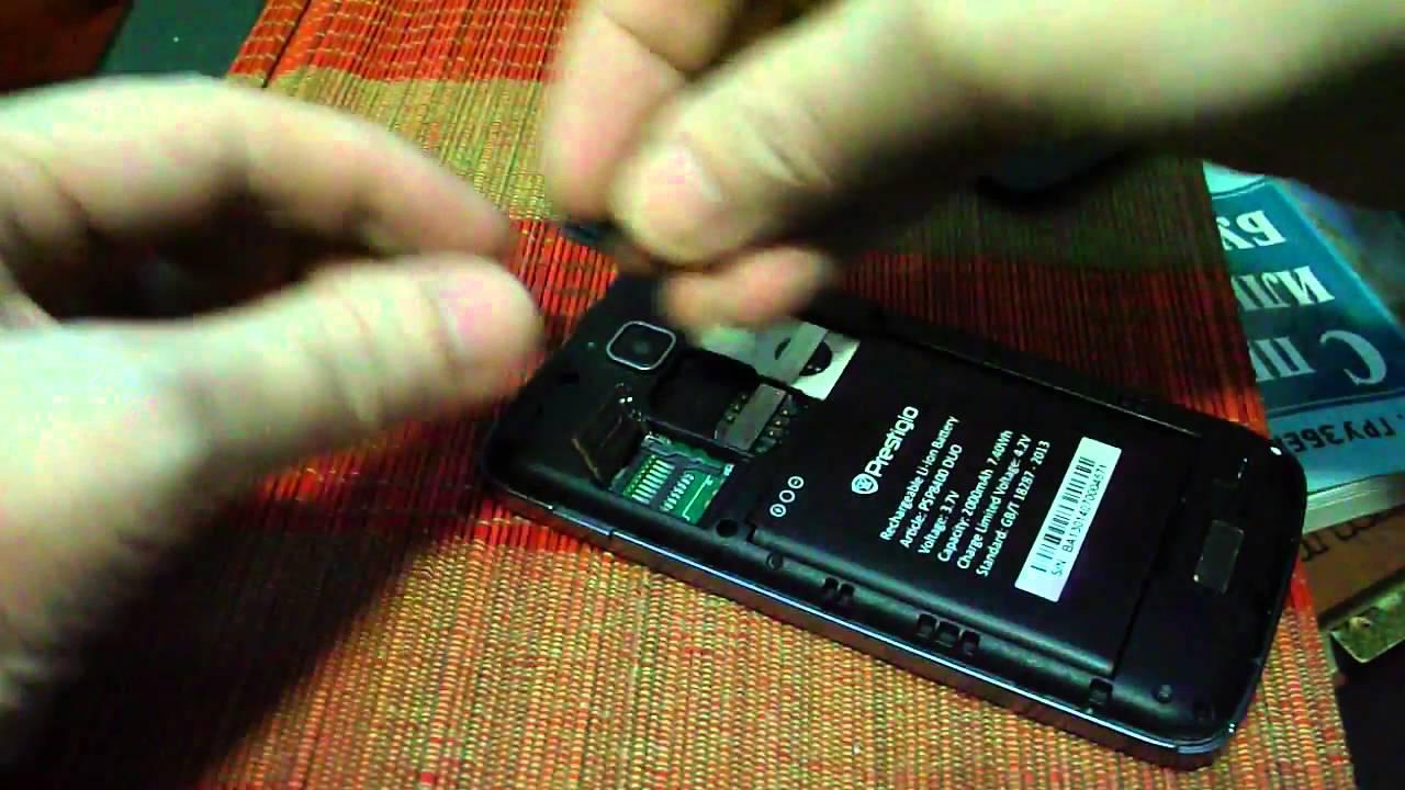 Как вставить microSD в Prestigio - YouTube