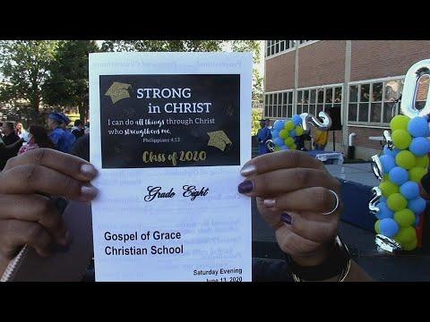 Gospel Of Grace Christian School Graduation- 8th Grade
