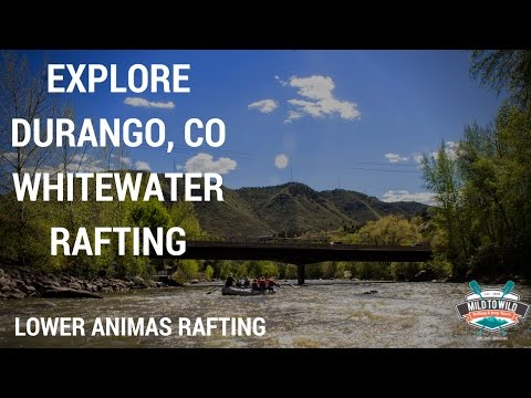 Family Whitewater-Rafting Adventure on the Lower Animas River - Video