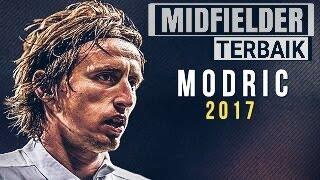 luca modric mastermind• midfielder terbaik • skills & asisst 2017•