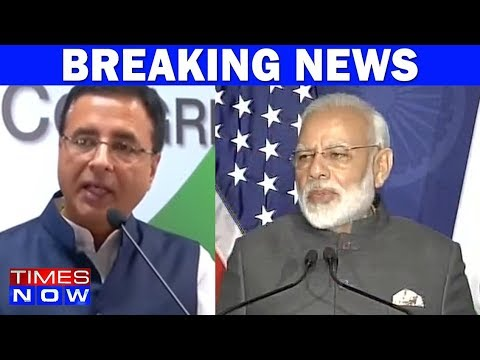 PM Modi Taking Credit For Work Done By UPA Government Accuses Congress
