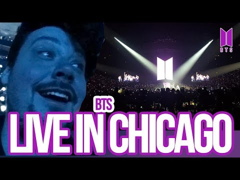 Mikey goes to BTS in Chicago! 10/2