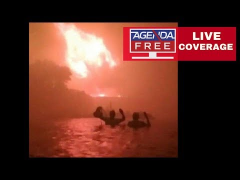 Multiple Fires near Athens, Greece – LIVE NEWS COVERAGE