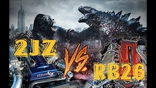 KING KONG VS GODZILLA - 2JZ VS RB26