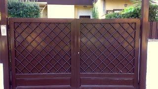 Распашные ворота(, 2014-09-16T17:40:30.000Z)