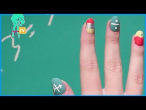 Back To School Nail Art - Nail Pop Ep. 3