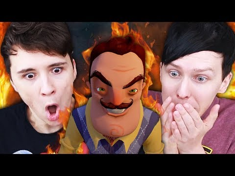Download Youtube: WHAT IS IN HIS BASEMENT?! - Dan and Phil play: Hello Neighbour