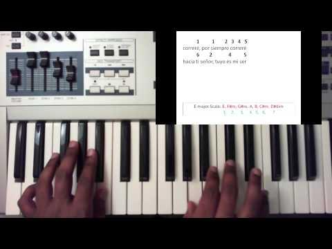 Correre (I Will Run) - Freddy Rodriguez (Piano Tutorial)