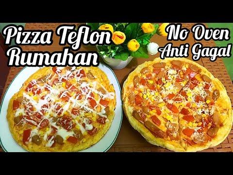 Resep Pizza Mini Lembut, Mudah Dan Gampang Tanpa Oven.