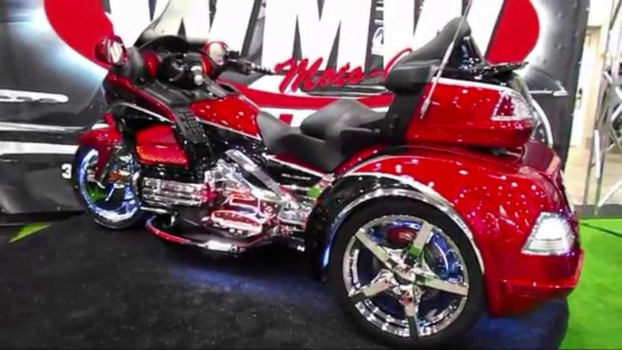 Honda Goldwing Trike Youtube