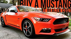 How To Buy A Ford Mustang At Dealer Cost | 4K Car Vlog