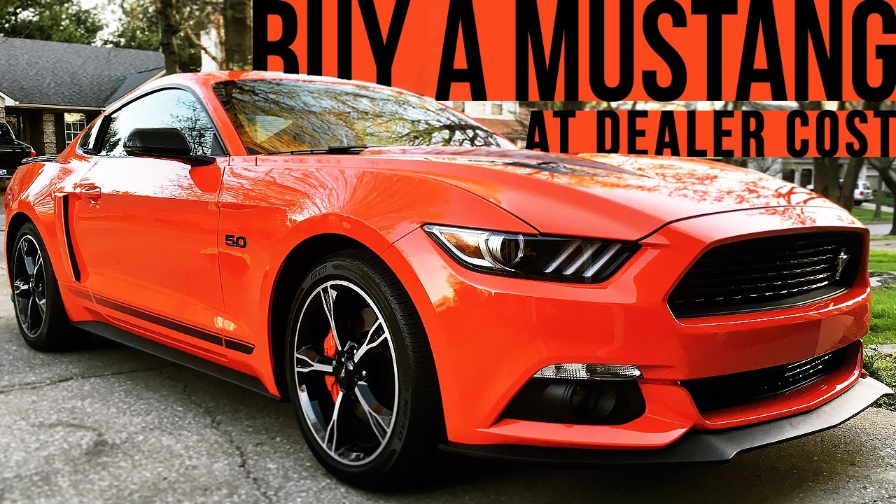 How To Buy A Ford Mustang At Dealer Cost K Car Vlog YouTube - 2018 mustang invoice price