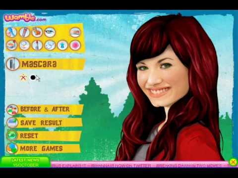 Demi Lovato Makeover Game Youtube