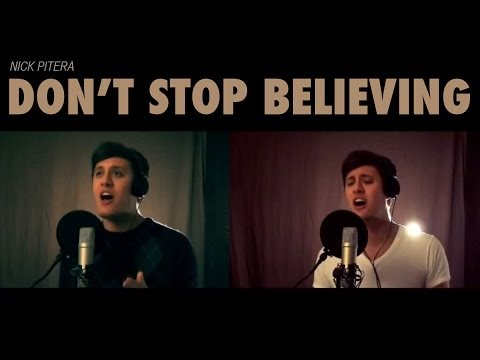 Journey - Glee - Don't Stop Believing - Nick Pitera Cover