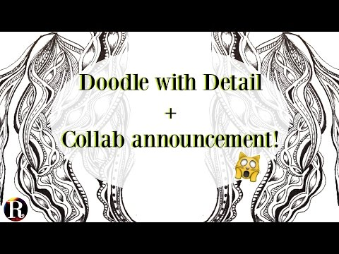 Drawing A Detailed Doodle ★ Collab Announcement With Vreecks!