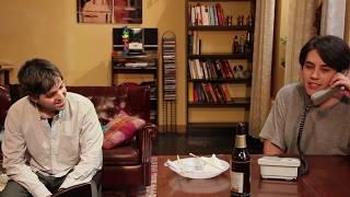 Escena de Friends: Maria Corro y Jorge Gracia