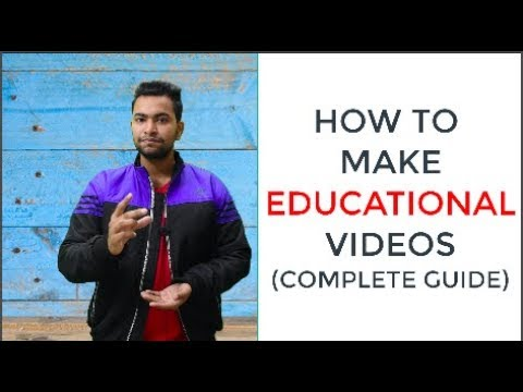 how to make educational and innovative videos for youtube | YOUTUBE CREATOR