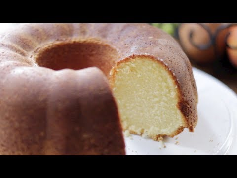 Whipping Cream Pound Cake Youtube