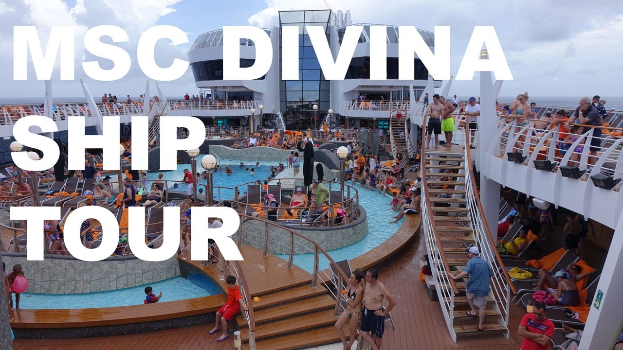 MSC Divina Cruise Ship Tour YouTube - Msc divina cruise ship