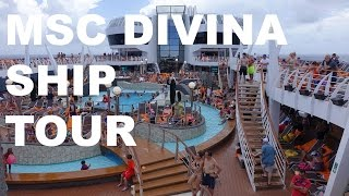 I sailed on the MSC Divina cruise ship out of Miami. Our week-long ...