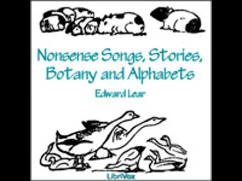 NONSENSE SONGS, STORIES, BOTANY AND ALPHABETS by Edward Lear FULL AUDIOBOOK | Best Audiobooks