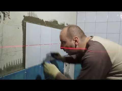 Укладка плитки в санузле.Кафель Kerama Marazzi