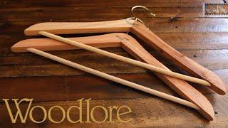 Woodlore Cedar Hangers: For Grown-Ups Only | Best Men's Hangers by 555 Gear