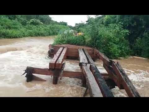 Rompimento de aterro deixa MT-343 interditada em trecho entre Vila Aparecida e Cáceres